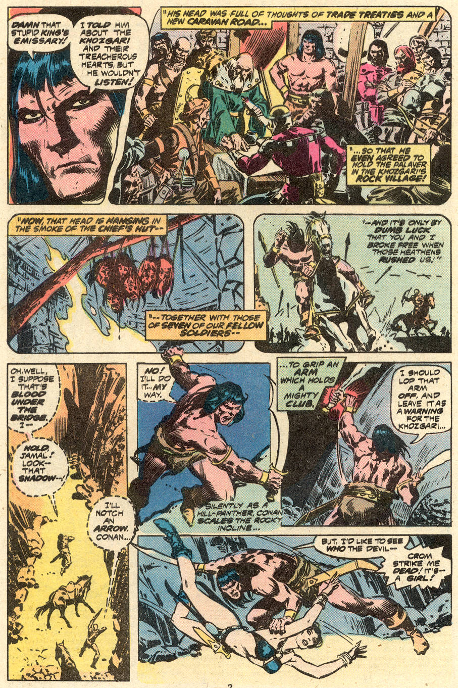 Conan the Barbarian (1970) Issue #87 #99 - English 3