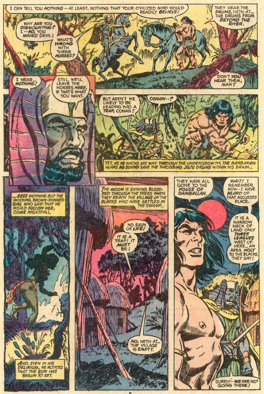 Conan the Barbarian (1970) Issue #83 #95 - English 5