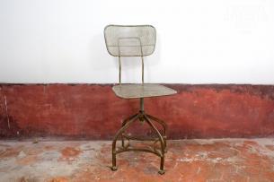 Chaise industrielle bureau