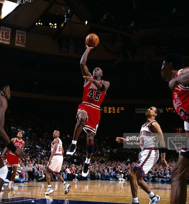 """Double Nickel"" vs New York Knicks (Regular Season 1995)"