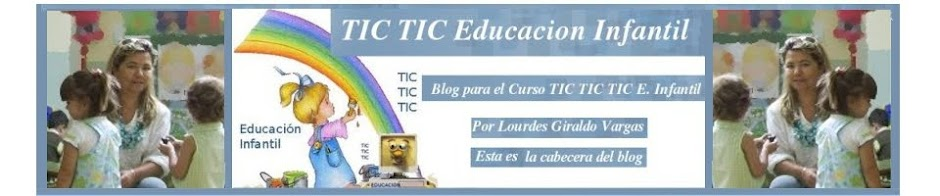 Curso TIC TIC Educacion Infantil