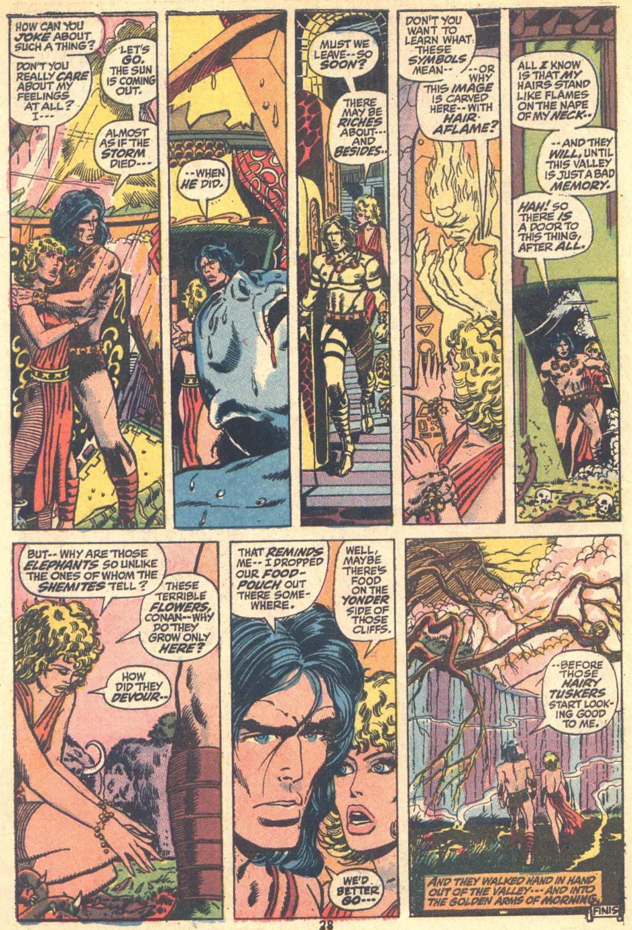 Conan the Barbarian (1970) Issue #9 #21 - English 20