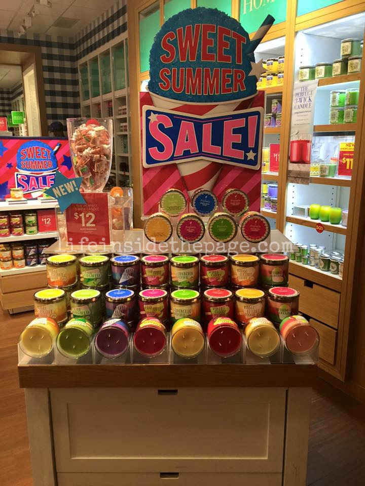 New  Poptails Candles. Life   Inside the Page  Bath   Body Works   Sweet Summer Sale