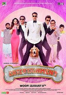 Latest Entertainment (2014) box office collection Verdict (Hit or Flop) wiki, report New Records, Overseas day and week end.