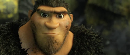 Screen Shot Of Hollywood Movie The Croods (2013) In Hindi English Full Movie Free Download And Watch Online at worldfree4u.com