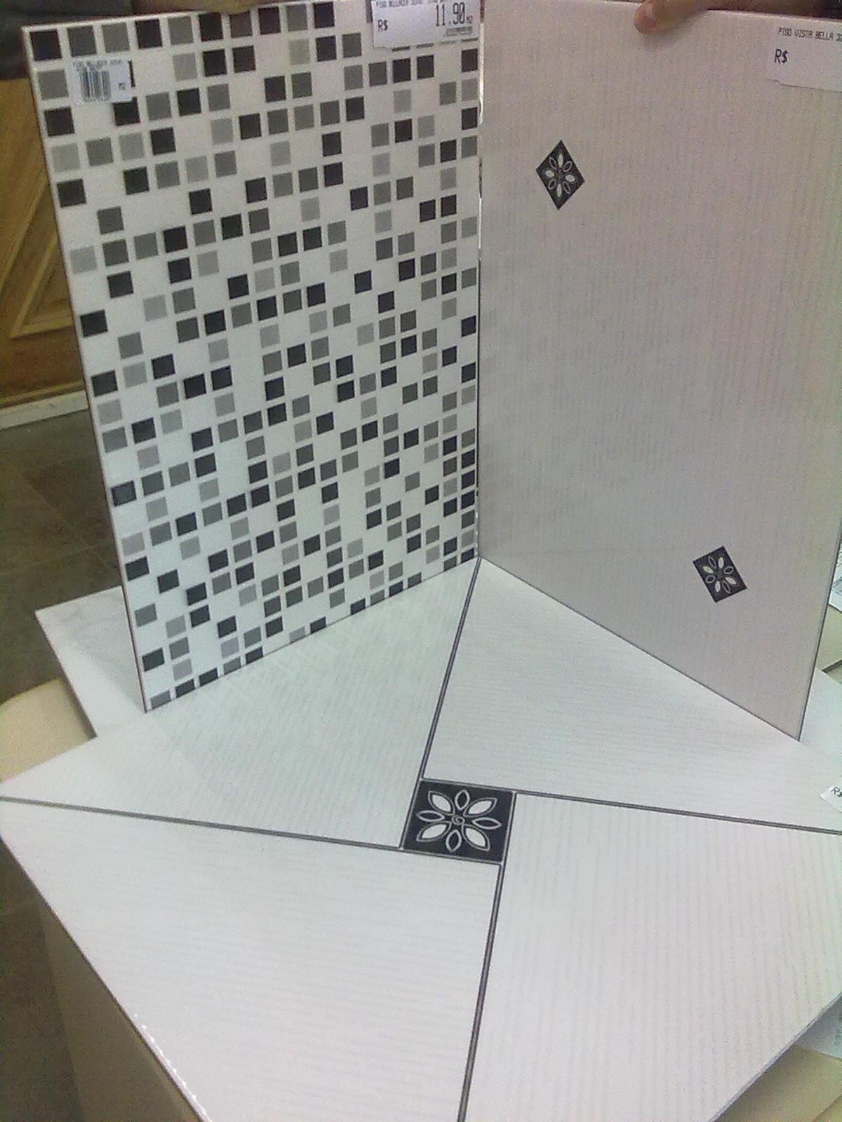 Adilson Simone e Lilica em construção!!!: Revestimentos de parede #5E4E34 1200x1600 Azulejos Para Banheiro Branco E Preto