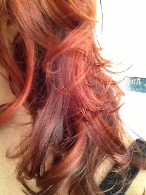 ThatRedheadSaid : mysalonlooks Hove : coloured and styled hair