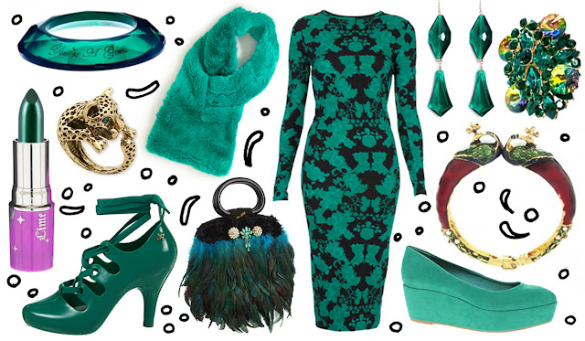 fashion, emerald, colour of the year, 2013