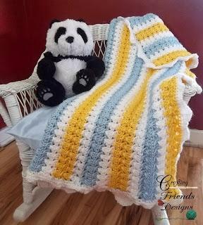 FREE: X Stitch Afghan Crochet Pattern