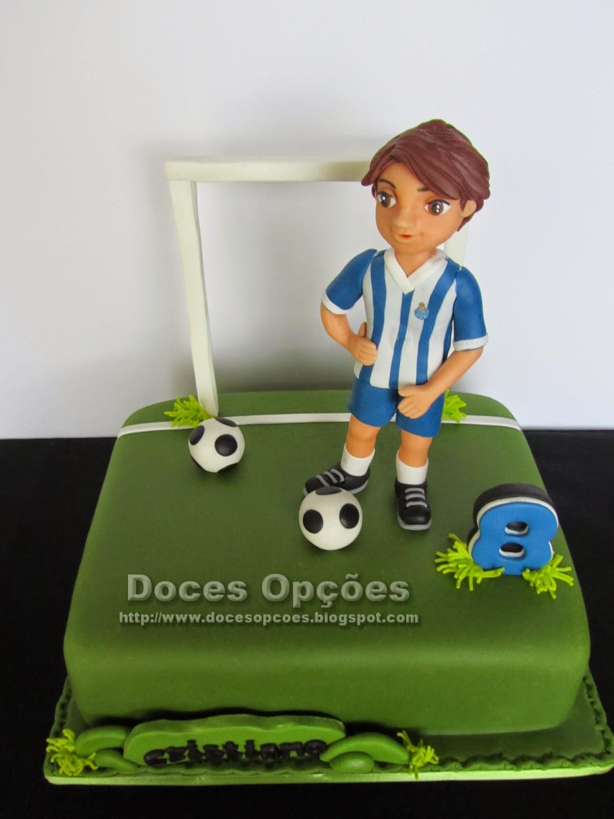 bolo aniversário jogador futebol fcporto