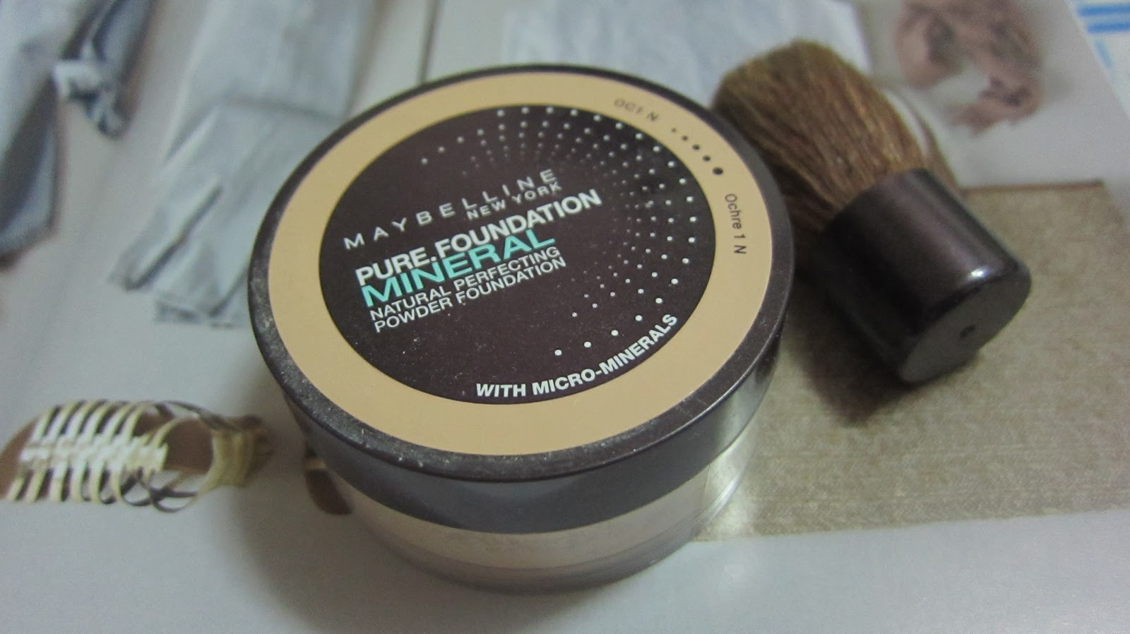 Maybelline new york pure foundation mineral review