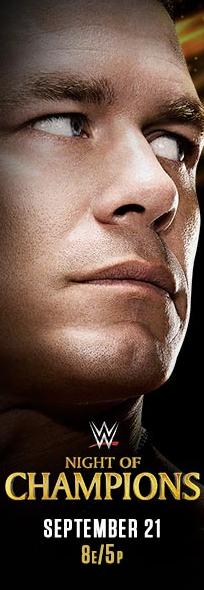 el gran protagonista de la noche es John Cena para el gran ppv noche de campeones