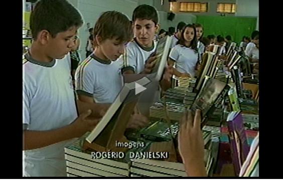 REPORTAGEM RBS TV - FEIRA DO LIVRO