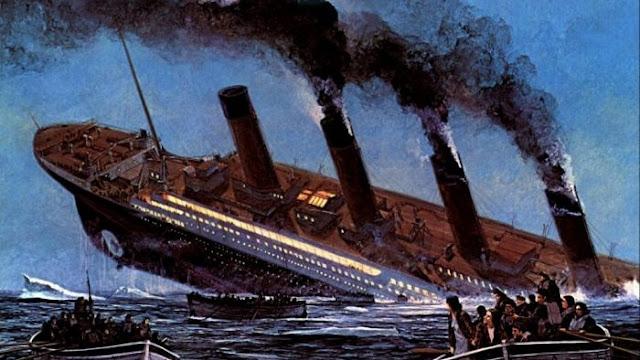 Titanic ditembak alien