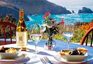 Albion River Inn, cliffs, Mendocino coast