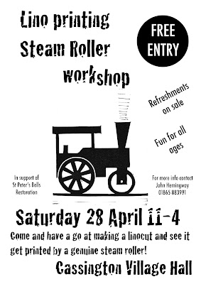 Steam Roller printing event