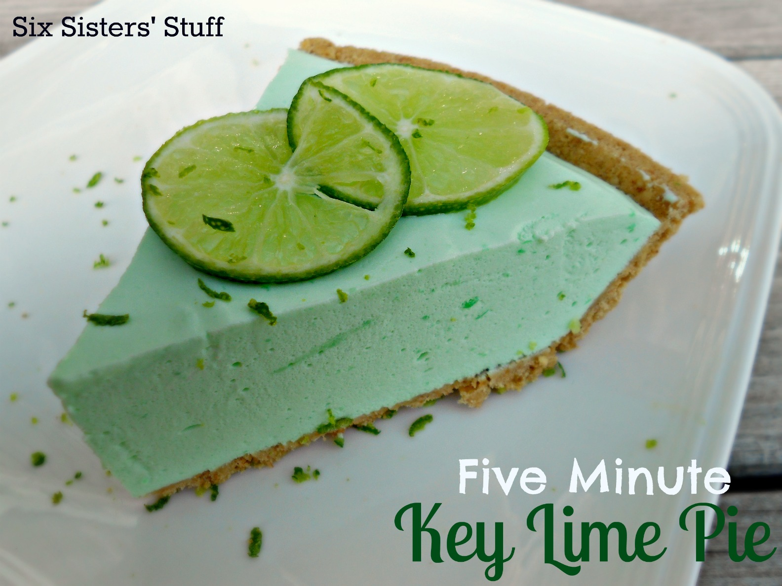 Minute Creamy Key Lime Pie / Six Sisters' Stuff | Six Sisters' Stuff