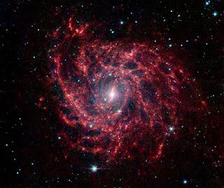 telescopio spitzer Galaxia IC 342