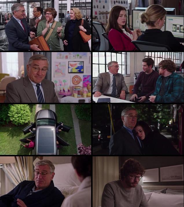 The Intern 2015 English HDRip