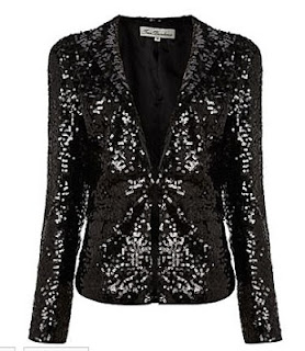 True Decadence Sequin Blazer