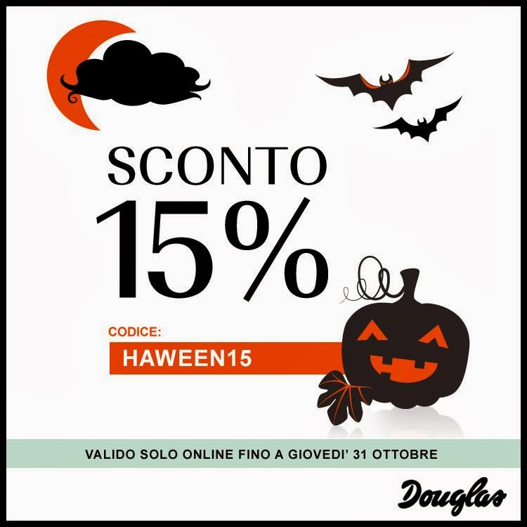 Douglas - Sconto 15% per Halloween 2013