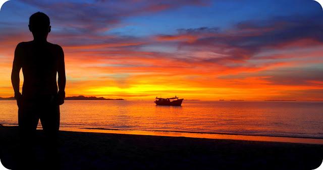 Sunset Pulau Banyak