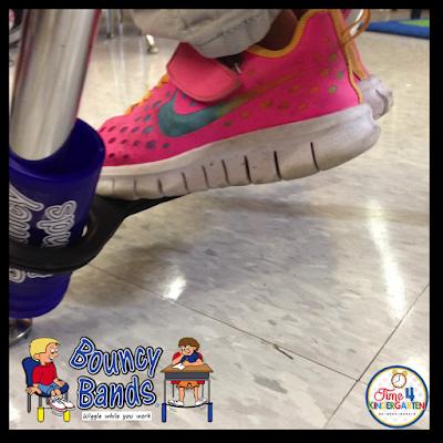 Bouncy Bands, Time4Kindergarten.com, ADHD in kindergarten, active kindergarteners