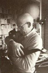 Foucault avec son chat