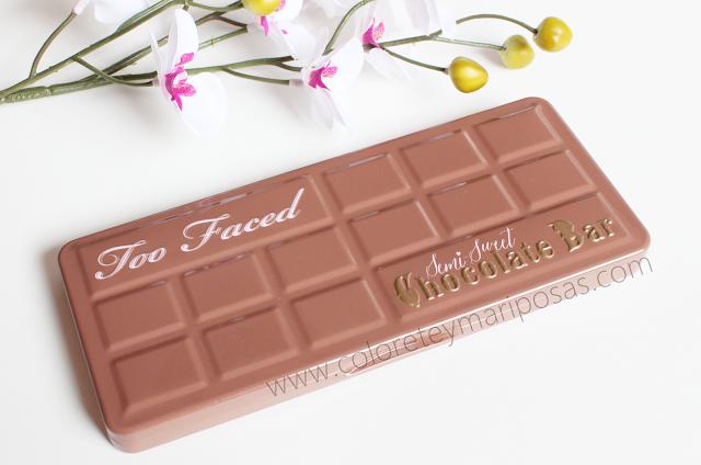 SEMI-SWEET CHOCOLATE BAR de TOO FACED