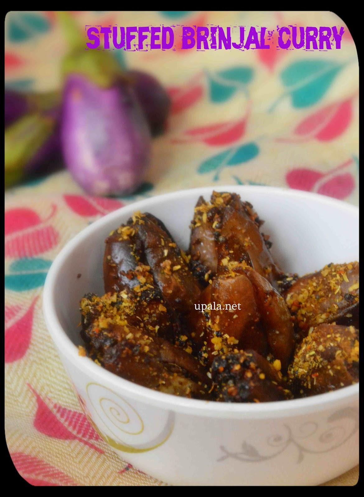 brinjal stuffed curry