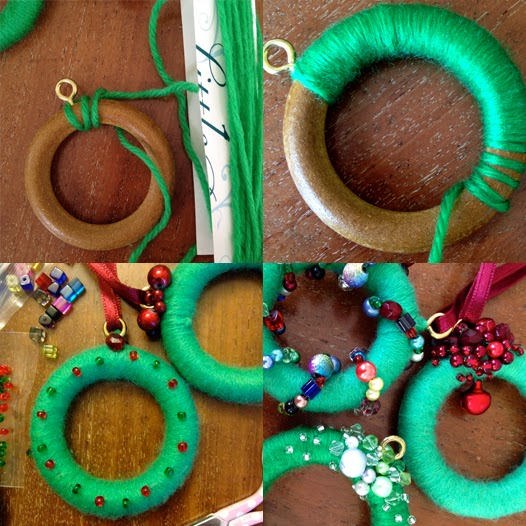 Christmas Decorations Using Curtain Rings : World of joy august rush