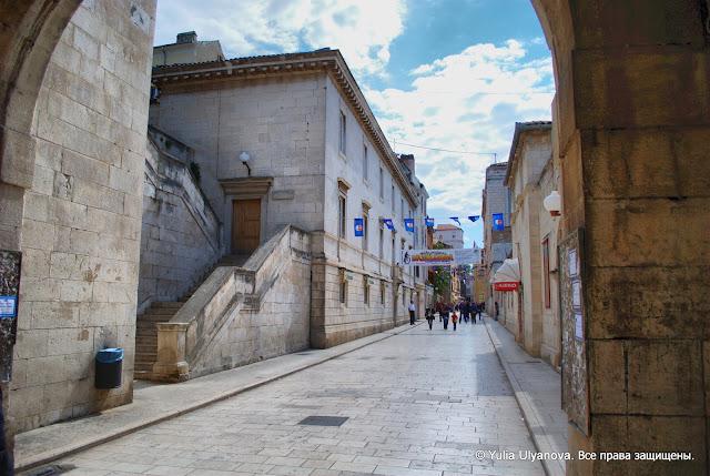 Улица в старом Задаре