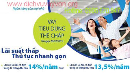Vay Tieu Dung - Vay tiêu dùng thế chấp lãi suất thấp ưu đãi