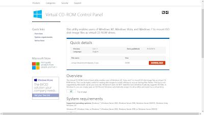 Aplikasi Untuk Menjalankan File ISO Gratis Dari Microsoft