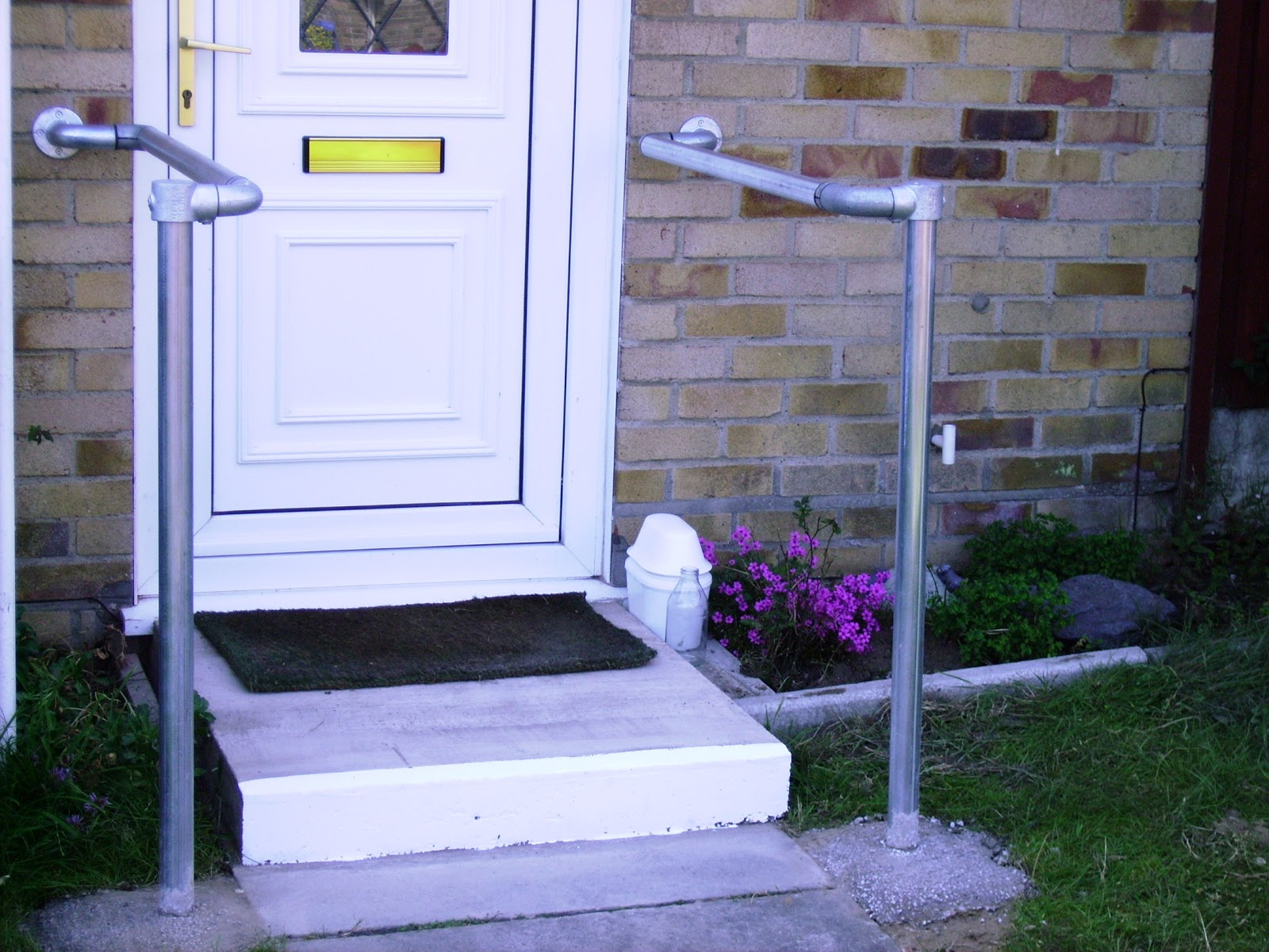 Disabled access suffolk: Ramps, half steps, hand and grab rails,anti ...