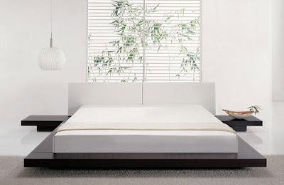 Ruang Tidur Warna Putih 9