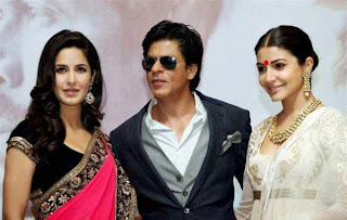 Jab Tak Hain Jaan Star Cast at 18th Kolkata International Film Festival 2012.