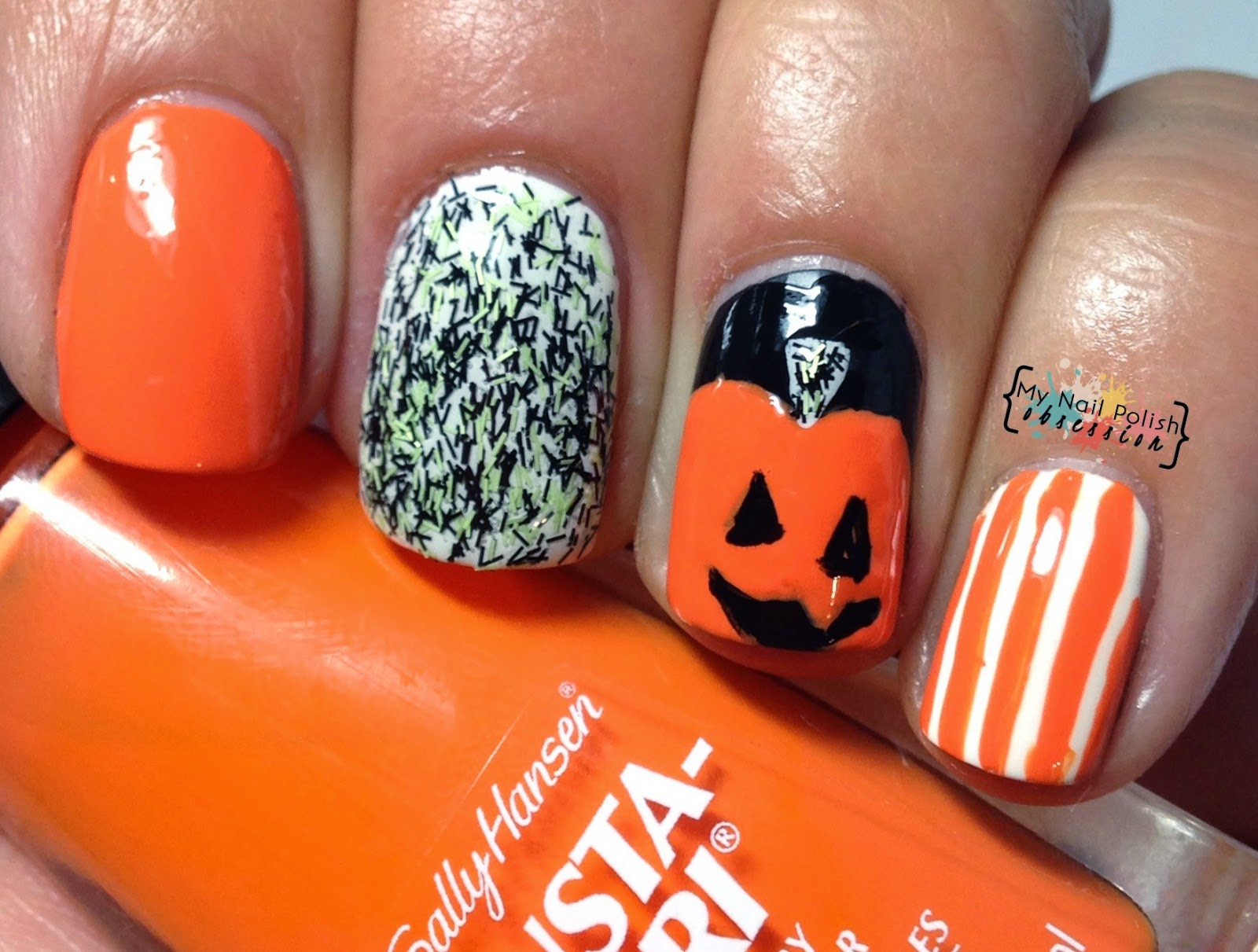 Sally Hansen Pumpkin Mani