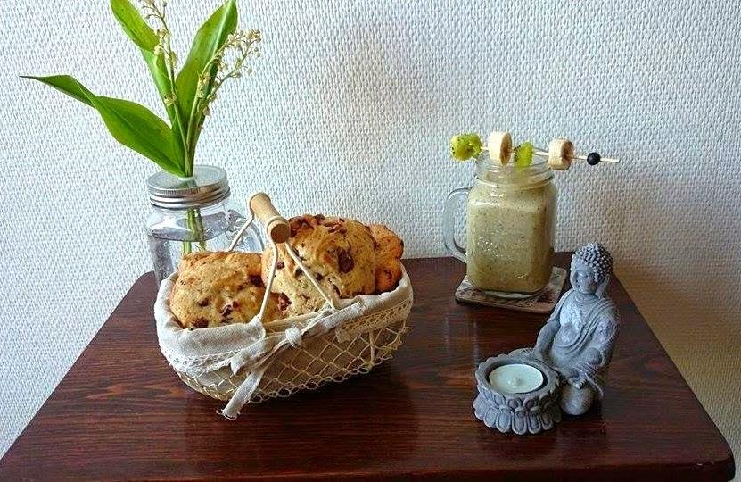 mary au naturel recette cookies v g taliens. Black Bedroom Furniture Sets. Home Design Ideas
