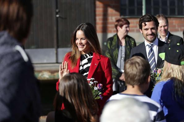 Princess Sofia Hellqvist, Duchess of Värmland and Prince Carl Philip, Duke of Värmland Visit Dalarna