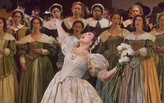 Opera Review: <i>I Puritani</i> at the Met.