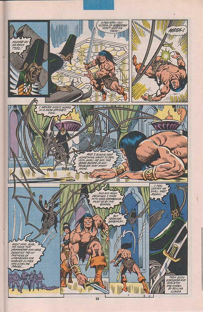 Conan the Barbarian (1970) Issue #253 #265 - English 20