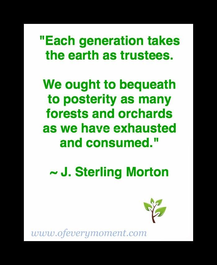 quote, Arbor Day