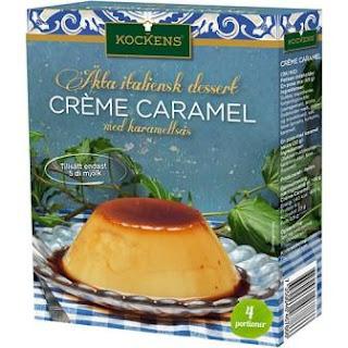Kockens Crème Caramel med karamellsås