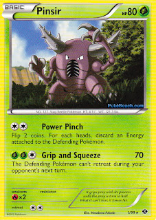 Pinsir Next Destinies Pokemon Card