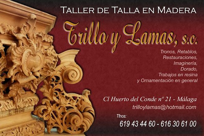 TALLER DE TALLA EN MADERA TRILLOYLAMAS
