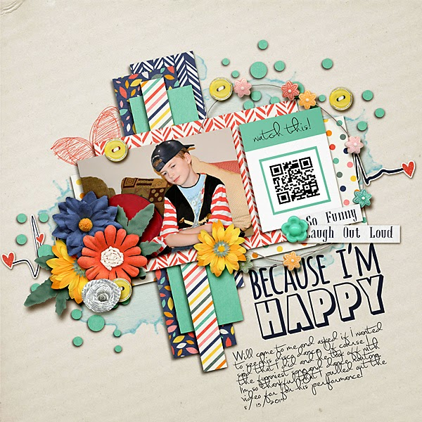 http://southernserenitydesigns.com/sharing-a-video-on-scrapbook-layouts-using-a-qr-code/