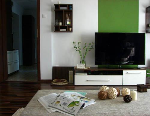 Una casa color verde ideas para decorar dise ar y - Casas color verde ...
