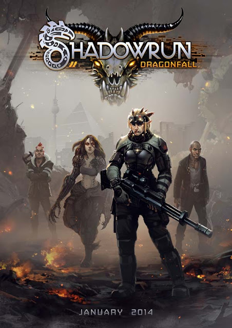 Shadowrun Dragonfall Download Cover Free Game