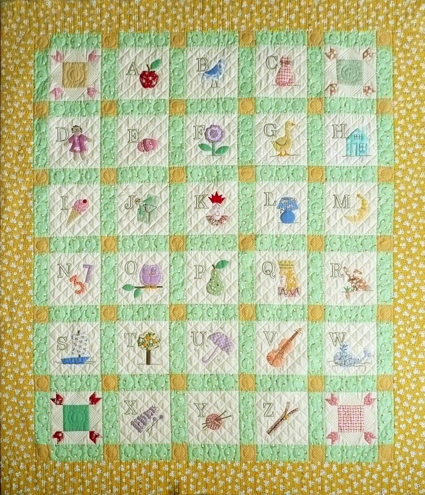 Alphabet Templates For Quilting : Come Quilt (Sue Garman): October 2013